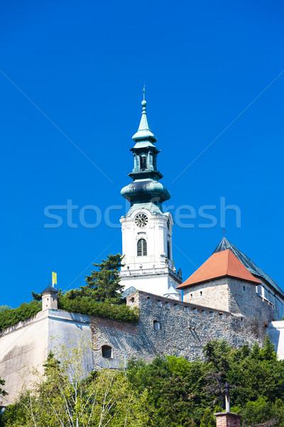 Stock photo: castle in Nitra, Slovakia