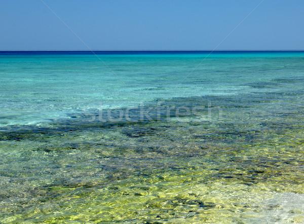 Caribbean Sea, Mar Stock photo © phbcz
