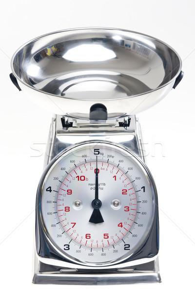 kitchen scales Stock photo © phbcz