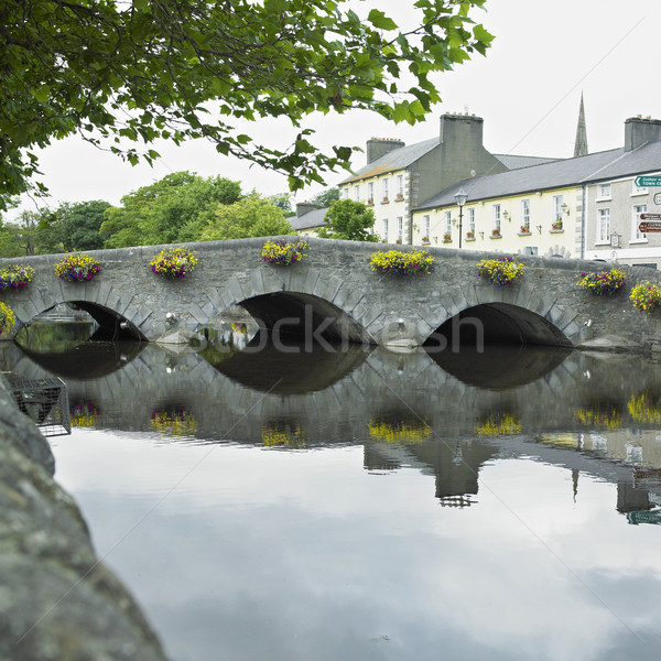 Irlande bâtiment architecture maisons ponts Photo stock © phbcz
