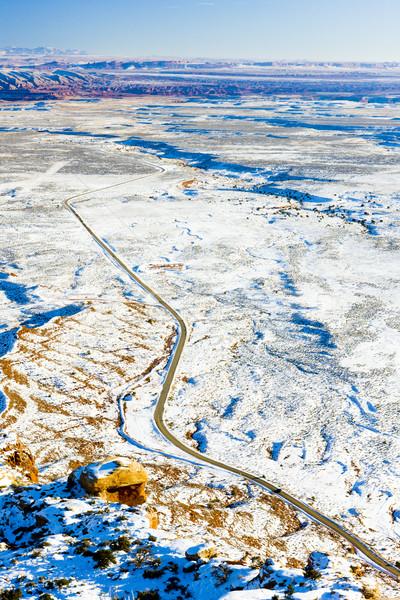 Stock photo: Moki Dugway Road, Utah, USA