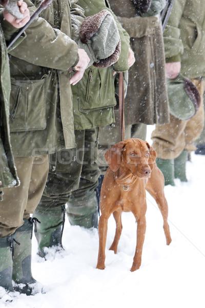 hunters Stock photo © phbcz