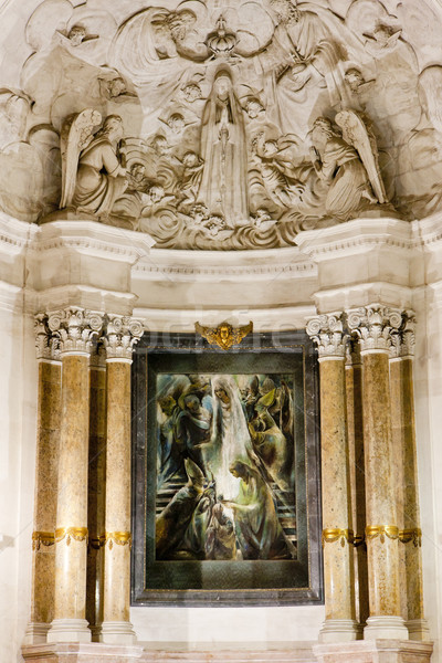 interior of Sanctuary of Our Lady of Fatima, Fatima, Estremadura Stock photo © phbcz