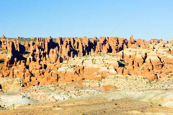 Parc Utah USA paysage roches silence Photo stock © phbcz