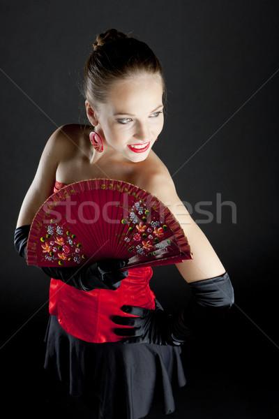 肖像 バレエダンサー ファン 女性 ダンス ストックフォト © phbcz