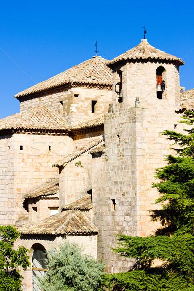 church in Alquezar, Huesca Province, Aragon, Spain Stock photo © phbcz