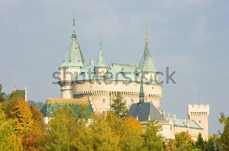 Bojnice Castle, Slovakia Stock photo © phbcz
