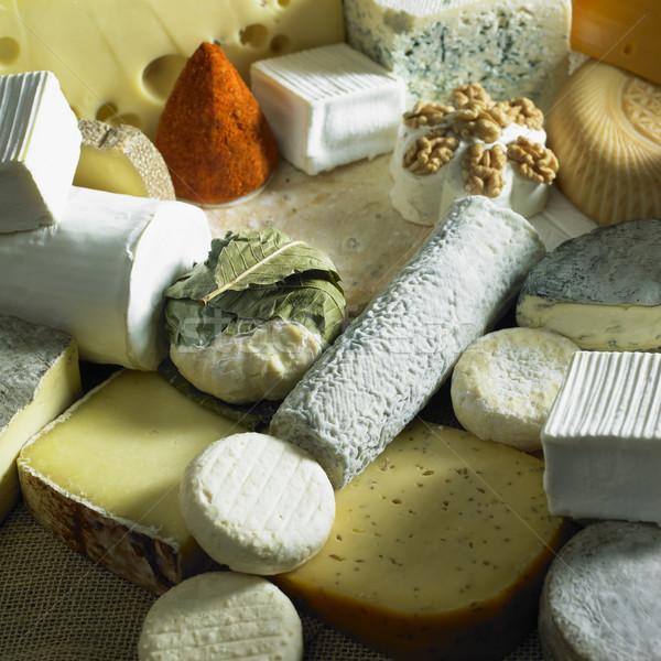 Stock photo: cheese still life