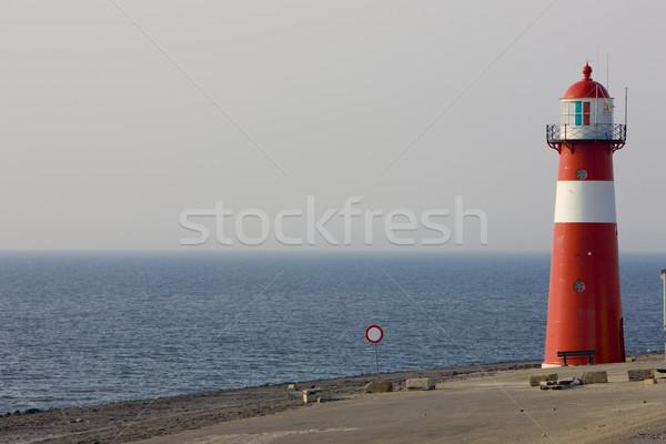 lighthouse, Westkapelle, Zeeland, Netherlands Stock photo © phbcz