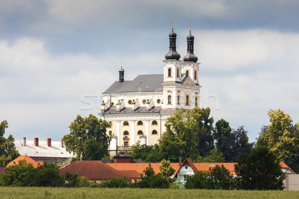 República Checa edifício arquitetura europa cidade ao ar livre Foto stock © phbcz