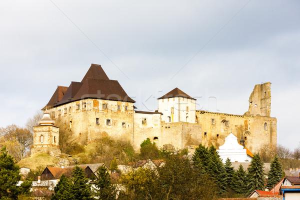 Château République tchèque Voyage architecture Europe histoire Photo stock © phbcz