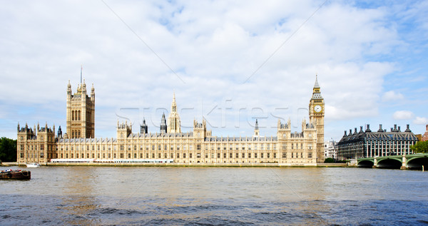 住宅 議会 ロンドン グレート·ブリテン 市 川 ストックフォト © phbcz