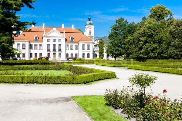 Kozlowski Palace with garden, Lublin Voivodeship, Poland Stock photo © phbcz