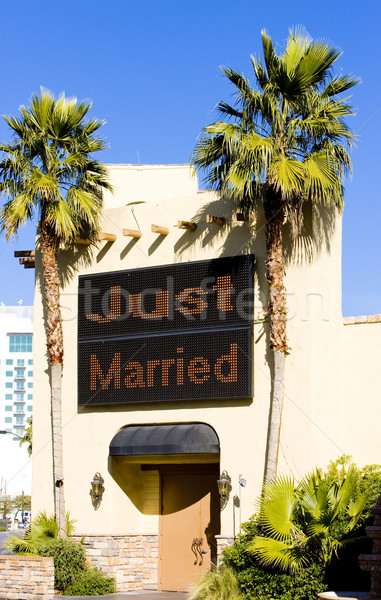 wedding chapel, Las Vegas, Nevada, USA Stock photo © phbcz
