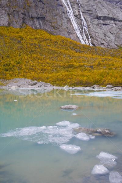 landscape near Brigsdal, Norway Stock photo © phbcz