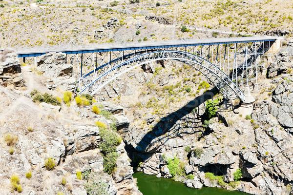 Stock photo: Requejo Bridge, Castile and Leon, Spain