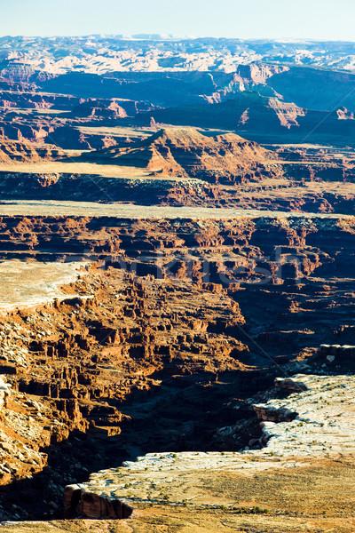 Park Utah USA tájkép kövek csend Stock fotó © phbcz