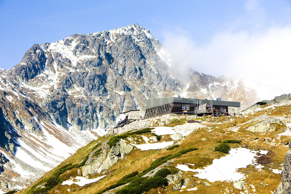 Zbojnicka Cottage, Vysoke Tatry (High Tatras), Slovakia Stock photo © phbcz