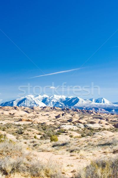 гор Юта США пейзаж снега Сток-фото © phbcz