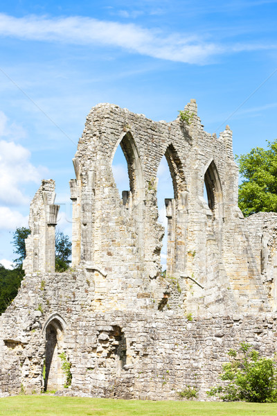 ruins of Bayham Abbey, Kent, England Stock photo © phbcz
