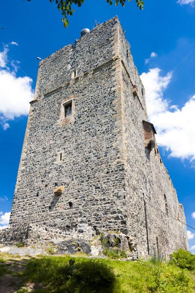 руин замок Чешская республика здании путешествия архитектура Сток-фото © phbcz