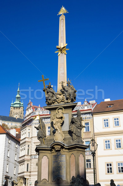 Malostranske Square, Prague, Czech Republic Stock photo © phbcz