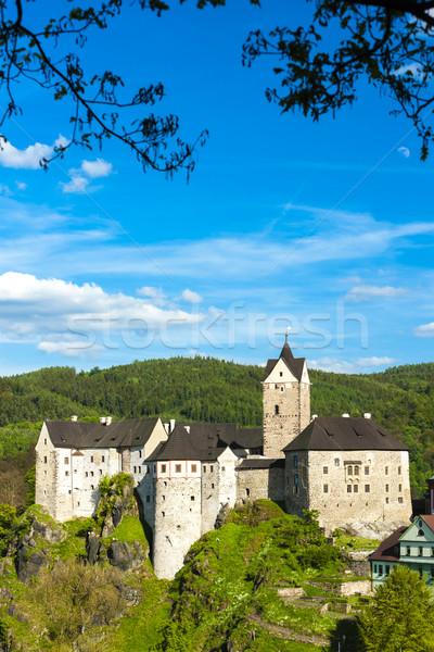 Kasteel Tsjechische Republiek reizen architectuur geschiedenis buitenshuis Stockfoto © phbcz