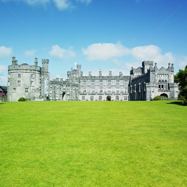 Kasteel Ierland gebouw architectuur geschiedenis outdoor Stockfoto © phbcz