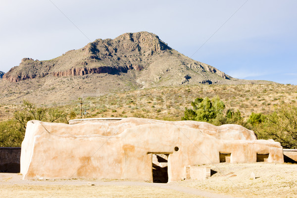Missie Arizona USA gebouw architectuur buitenshuis Stockfoto © phbcz