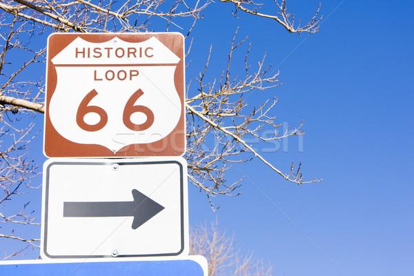Route 66 Аризона США дороги Сток-фото © phbcz