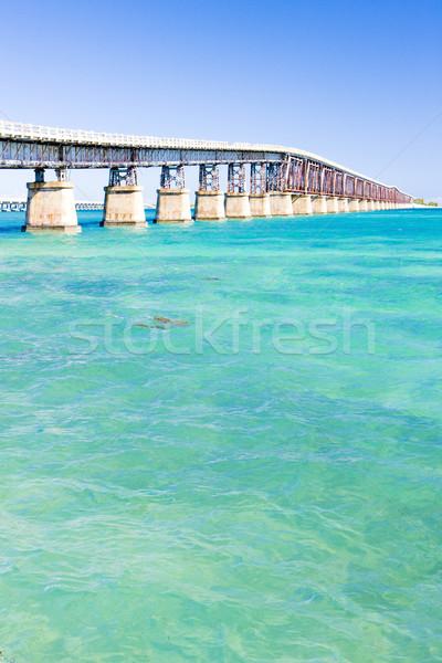 Strada ponte Florida tasti USA Foto d'archivio © phbcz