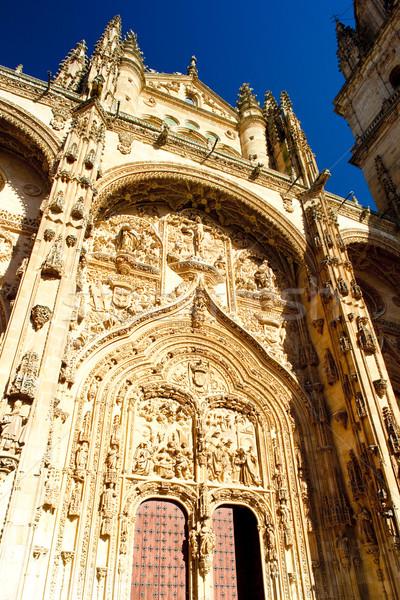 Detalle gótico catedral España edificio arquitectura Foto stock © phbcz