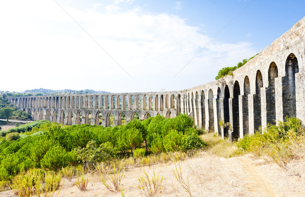 Portugal edificio viaje arquitectura historia arco Foto stock © phbcz