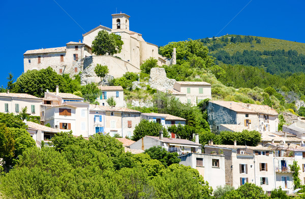 Saint Jurs, Provence, France Stock photo © phbcz