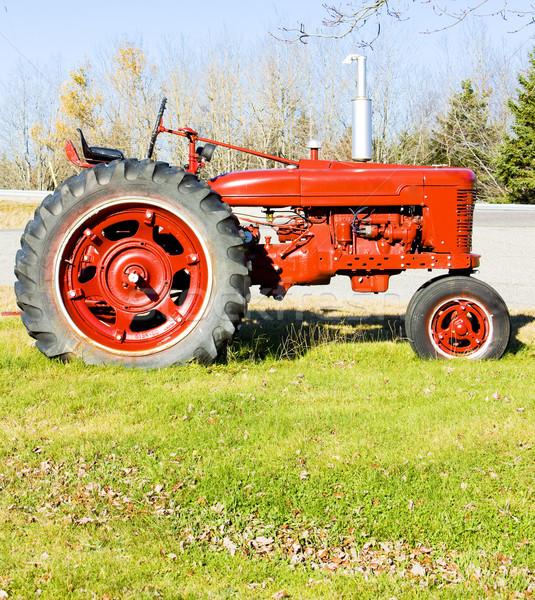 tractor near Jonesboro, Maine, USA Stock photo © phbcz