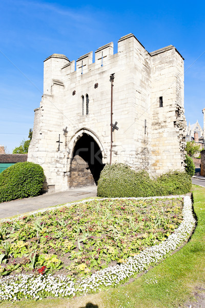 Potter Gate, Lincoln, East Midlands, England Stock photo © phbcz