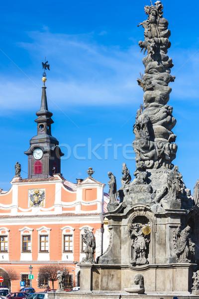 Ressel''s Square, Chrudim, Czech Republic Stock photo © phbcz