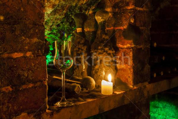 wine archive of wine cellar in Velka Trna, Tokaj wine region, Sl Stock photo © phbcz