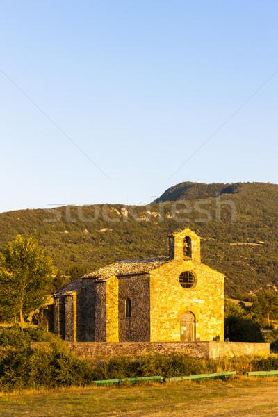 Kapel Frankrijk gebouw reizen architectuur Europa Stockfoto © phbcz