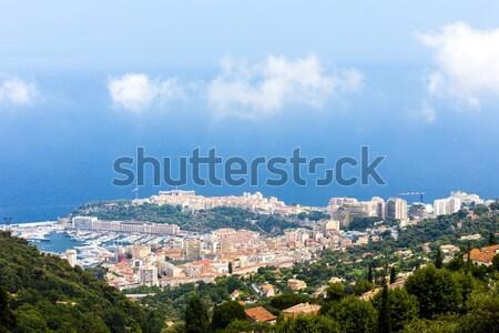 мнение Монако морем путешествия Европа Cityscape Сток-фото © phbcz