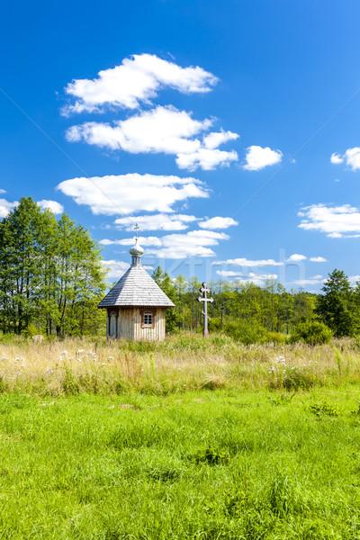 Parc culture église Voyage architecture Photo stock © phbcz