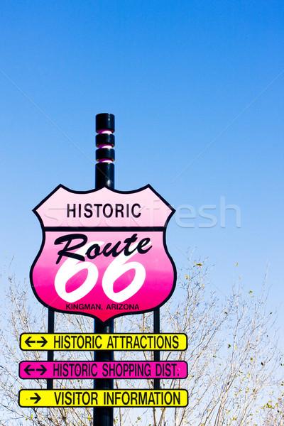 ルート66 アリゾナ州 米国 ストックフォト © phbcz