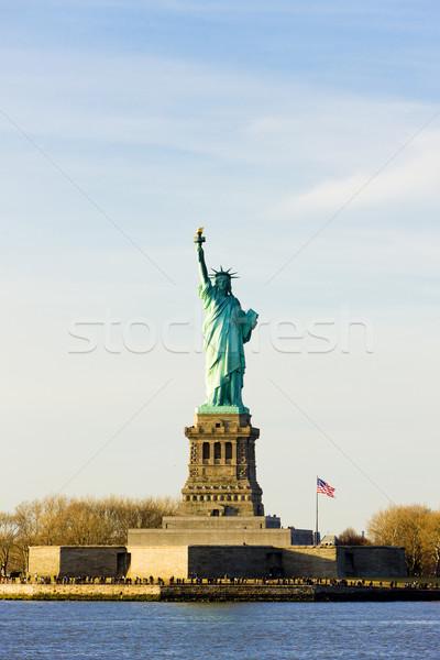 özgürlük ada heykel New York ABD Stok fotoğraf © phbcz