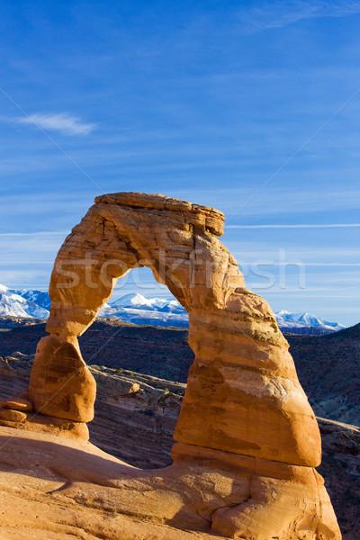 Arch parco Utah USA panorama montagna Foto d'archivio © phbcz