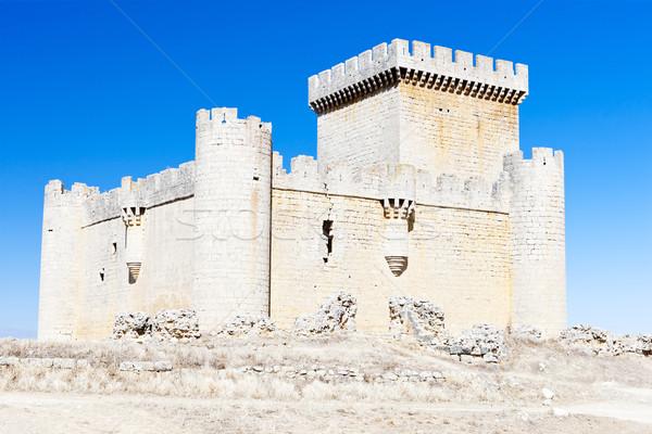 Castle of Villalonso, Castile and Leon, Spain Stock photo © phbcz