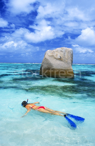 snorkeling Stock photo © phbcz