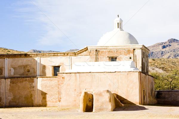 アリゾナ州 米国 教会 アーキテクチャ 歴史 ミッション ストックフォト © phbcz