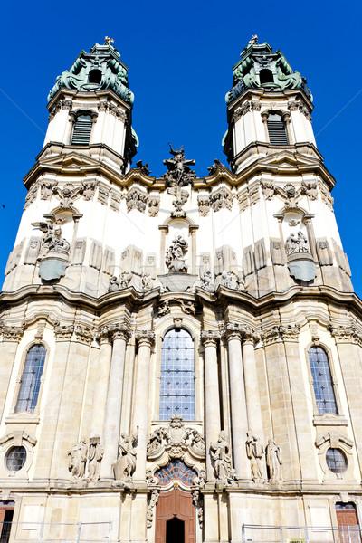 Peregrinação igreja Polônia edifício arquitetura europa Foto stock © phbcz