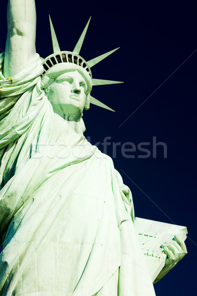 Detail Statue Freiheit New York USA Reise Stock foto © phbcz