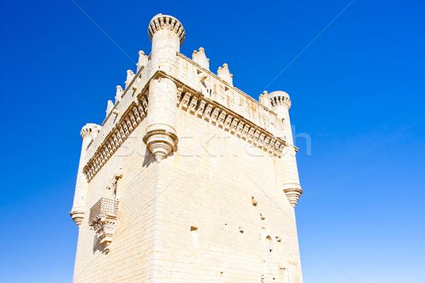 Stock photo: Castle of Belmonte de Campos, Castile and Leon, Spain